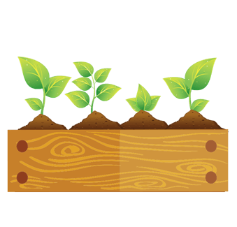 Raised-bed-gardening-icon